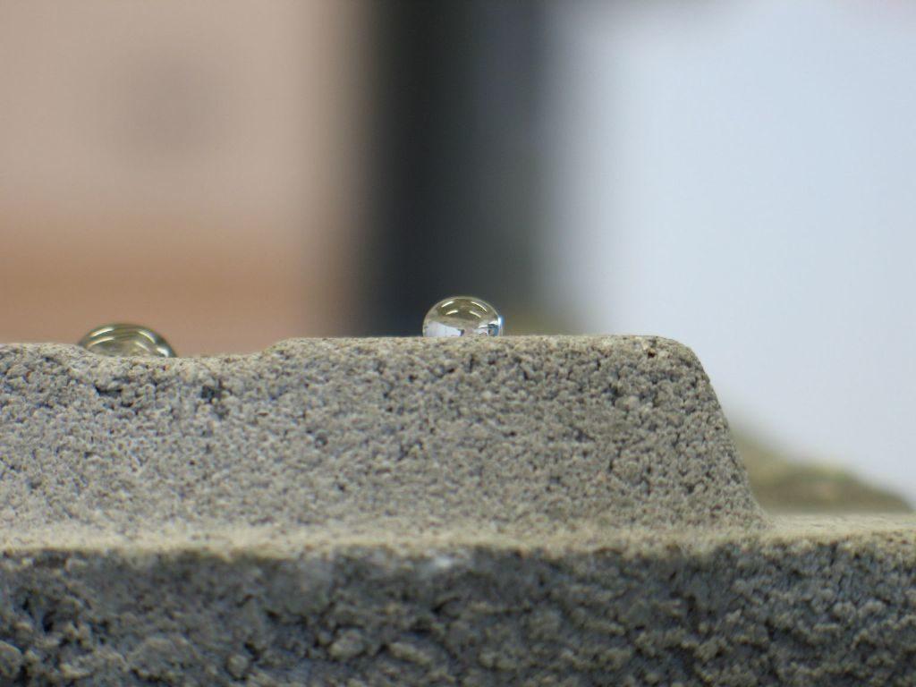 béton hydrofuge impermeable