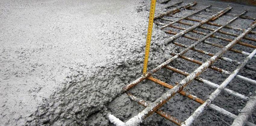 epaisseur d'une dalle de beton