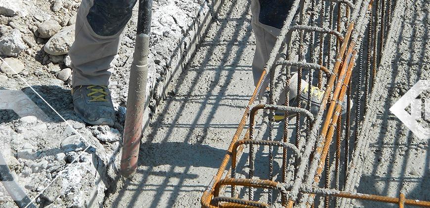 vibrer le beton