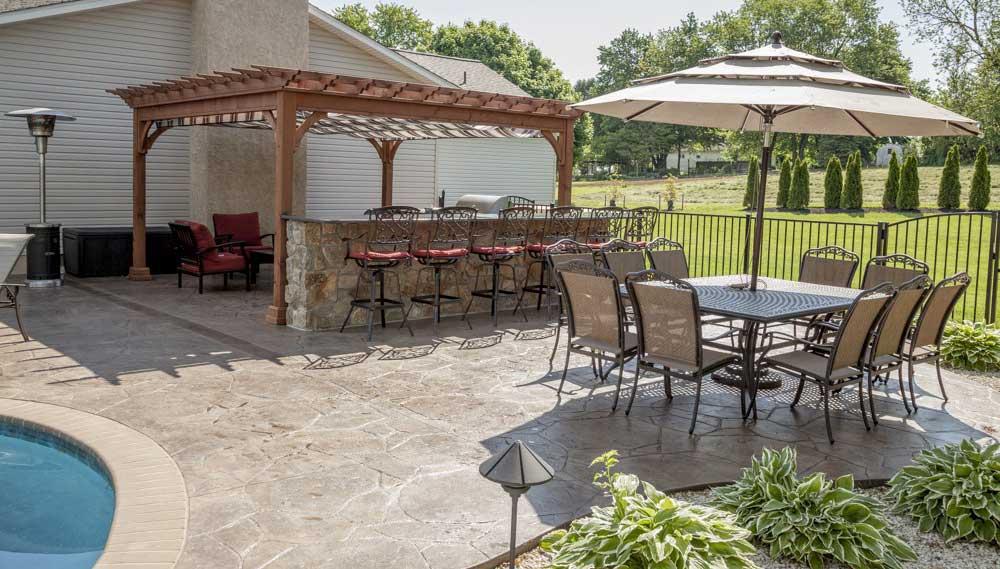 Revêtement de sol pour terrasse extérieure